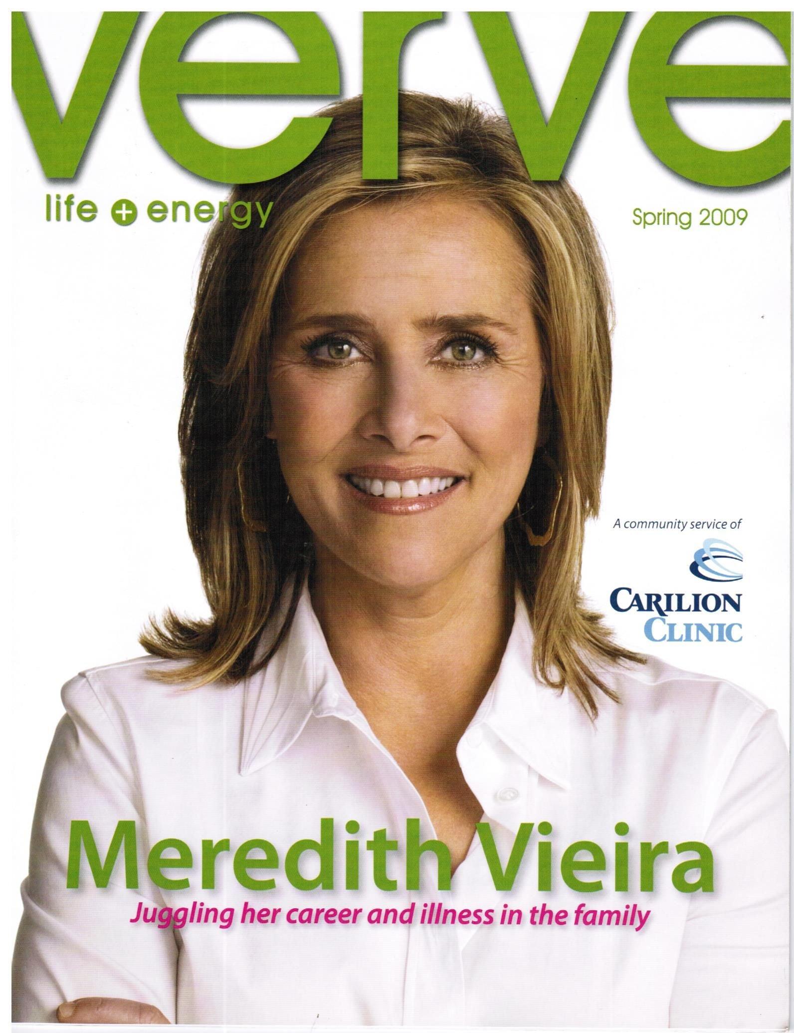 Read Online Spring 2009 Verve Magazine Meredith Vieira Cover ebook
