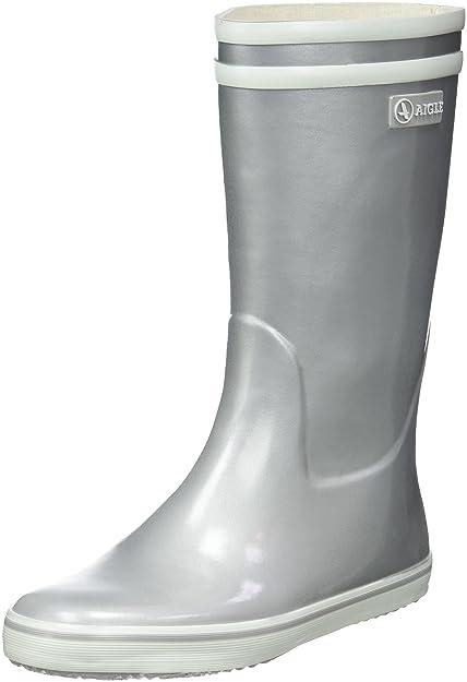 Malouine BT, Bottes de Pluie Femme - Argent (Silver), 35 EU (2.5 UK)Aigle