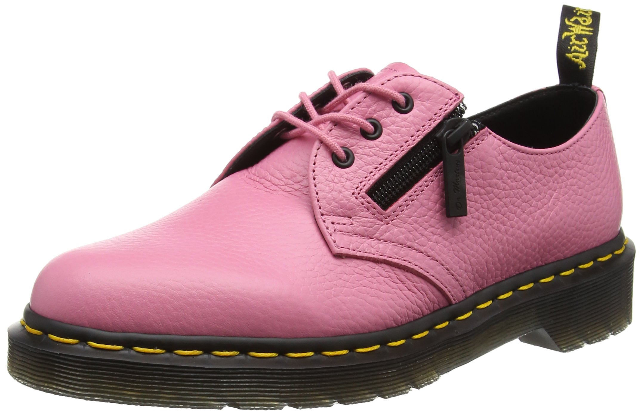Dr. Martens 1461 3-Eye Zip Shoe(Women's) -Black Aunt Sally Cheap Cost Sale With Credit Card Cheap Perfect Perfect Sale Online 3mC2Dly