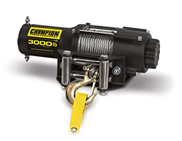 Amazoncom Champion 3000lb ATVUTV Winch Kit Automotive