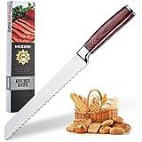 Amazon.com: Zulay - Cuchillo de pan serrado de 8 pulgadas ...