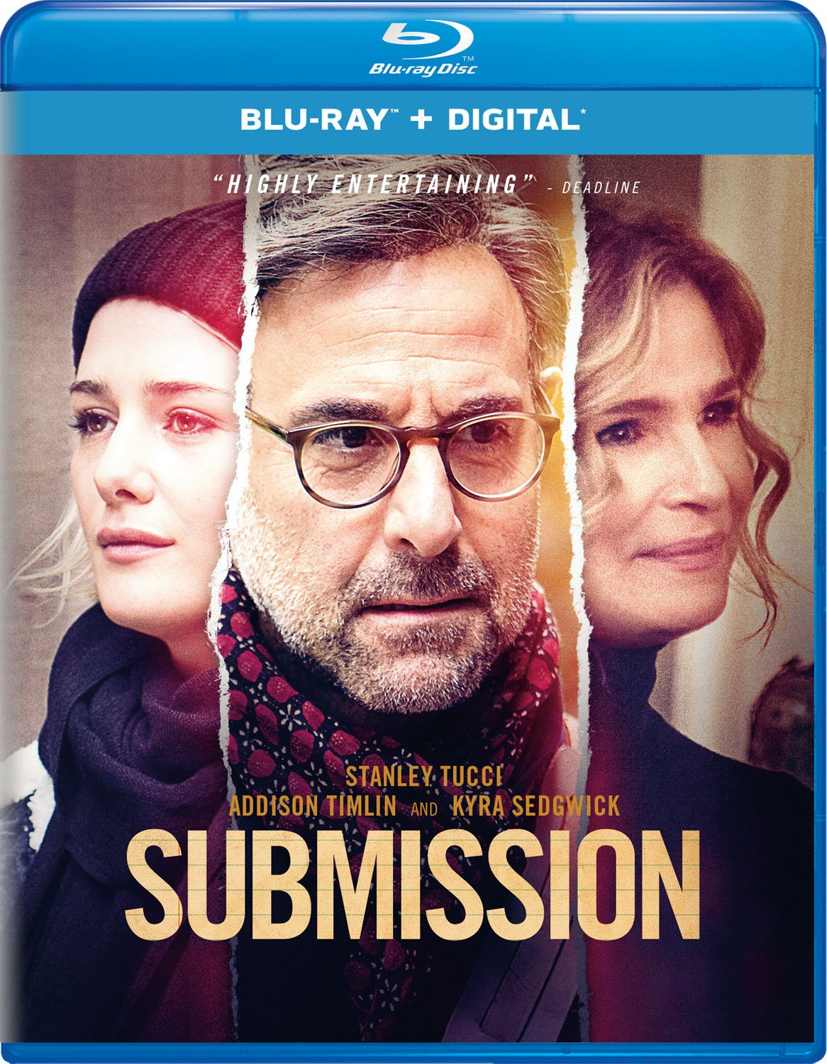 Blu-ray : Submission (Digital Copy)