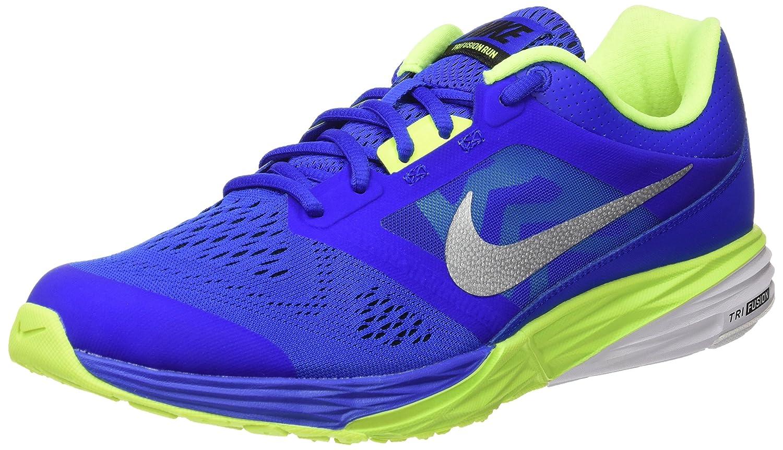 Nike Herren Tri Fusion Run Sneaker  45 EU|Azul (Racer Blue / Mtllc Slvr Blk Vlt)