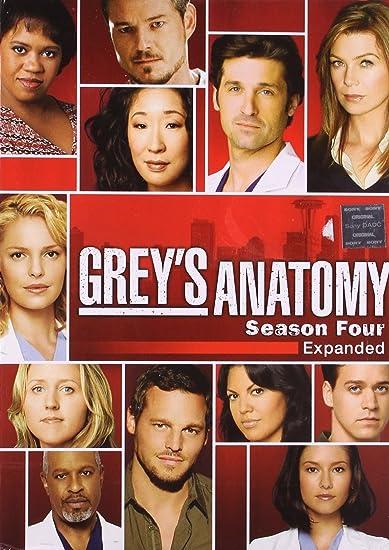 Amazon Buy Greys Anatomy Season 4 Dvd Dvd Blu Ray Online At