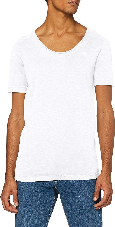 G-STAR RAW Alkyne Slim Camiseta para Hombre: Amazon.es: Ropa y accesorios