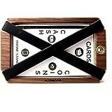 Hudwood Wallet 木製マネークリップ カードケース、小銭入れ付