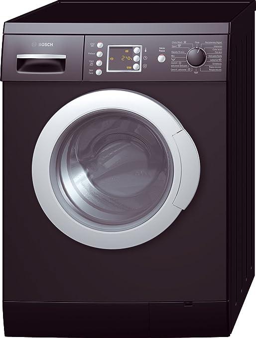 Bosch WAE2446BEE - Lavadora (Independiente, Carga frontal, Negro, 7 kg, 1200 RPM, A): Amazon.es: Hogar