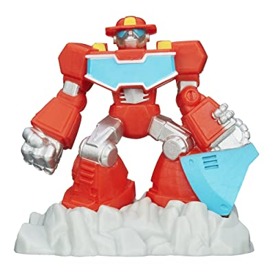 Transformers Playskool Heroes Rescue Bots Beam Box Heatwave The Fire-Bot Game Pack: Toys & Games