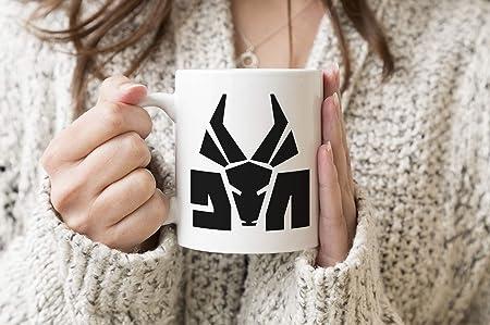 Die Antwoord Top Rap Star Ninja Yolandi Logo White Coffee ...