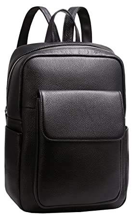 ab4dca3788b Amazon.com | Heshe Womens Leather Backpack Vintage Casual Daypack .