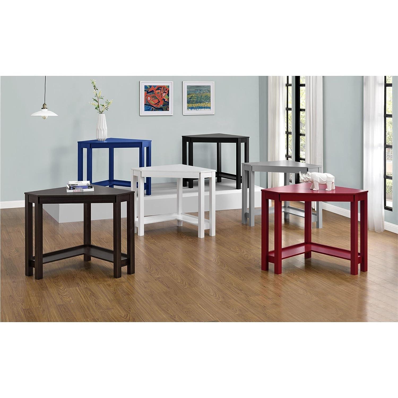 Amazon com ameriwood home parsons corner desk black kitchen dining