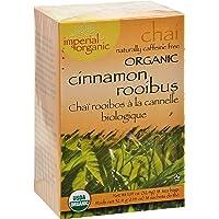 Uncle Lee's Tea Imperial Organic Cinnamon Rooibus Chai Tea Bags, 18 Count