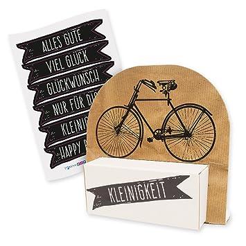 Amazon De Itenga Geldgeschenk Oder Gastgeschenkverpackung Fahrrad