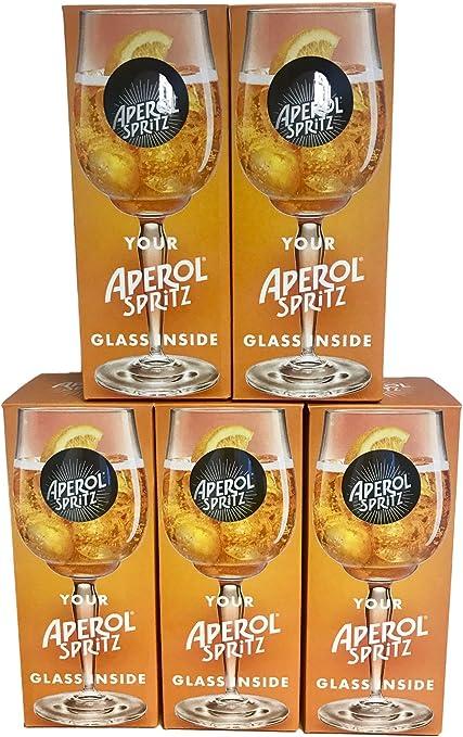 Vasos de c/óctel 6 unidades, 51 cl Aberol Spritz