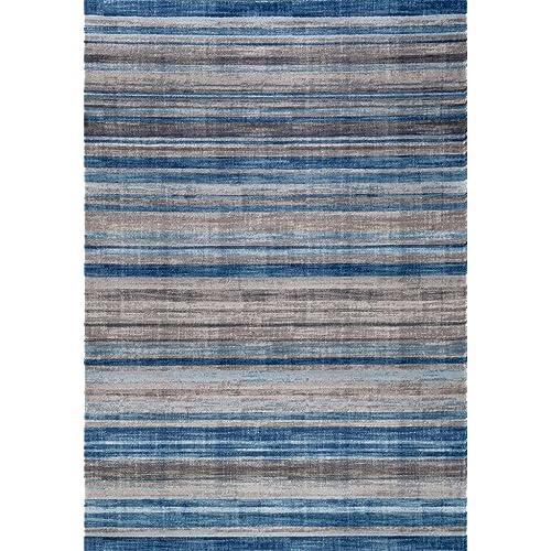Gray Blue Rug Amazon Com