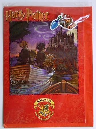 Amazon.com: Grande Harry Potter UK Tarjeta de cumpleaños ...