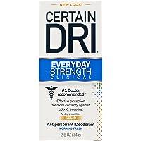 Certain Dri Everyday Strength Clinical Antiperspirant Deodorant, 2.6 ounce