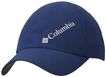Columbia Gorra de béisbol unisex, Silver Ridge III Ball Cap, Nailon, Azul (Carbon), Talla: O/S, 1840071: Amazon.es: Deportes y aire libre