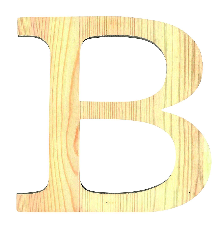 Artemio 14001082 Wooden Letter B Upper Case-11.5 cm