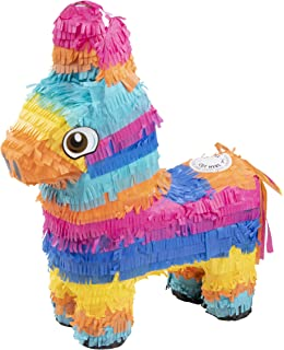 Amazon Com Mini Bull Or Donkey Pinata Decorations Kitchen Dining
