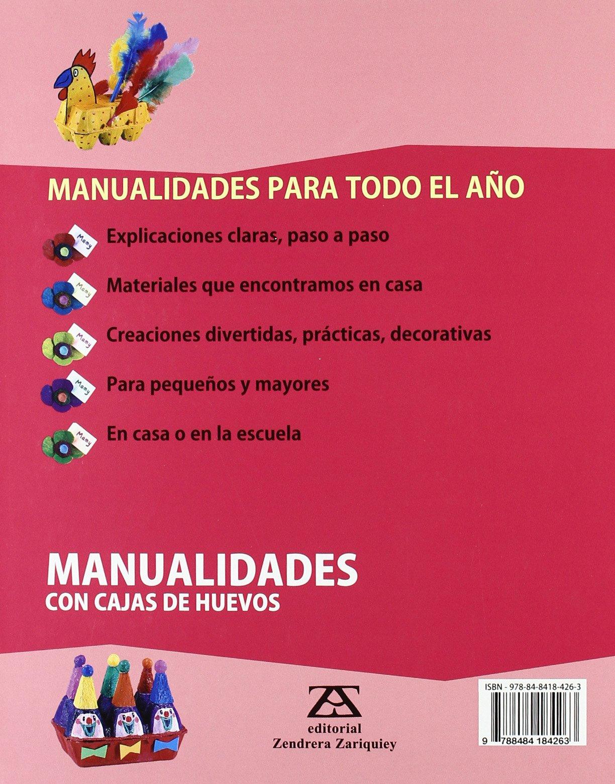 Manualidades con cajas de huevos: Bernadette Theulet-Luzié: 9788484184263: Amazon.com: Books