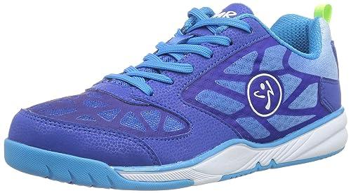 Zumba Footwear Zumba Energy Fuze - Zapatillas Deportivas de Material sintético Mujer, Color Azul, Talla 35.5: Amazon.es: Zapatos y complementos