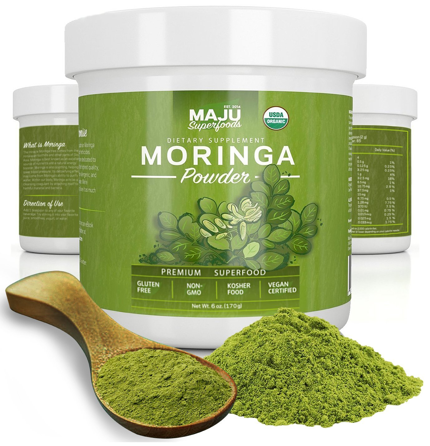 Maju's Organic Moringa Powder