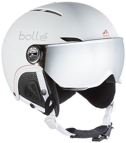 e81e4d9ed65 Bollé Casco de esquí Juliet Visor  Amazon.es  Deportes y aire libre