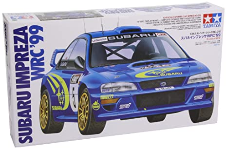 Amazon Com 1 24 Subaru Impreza Wrc 99 No 218 Toys Games