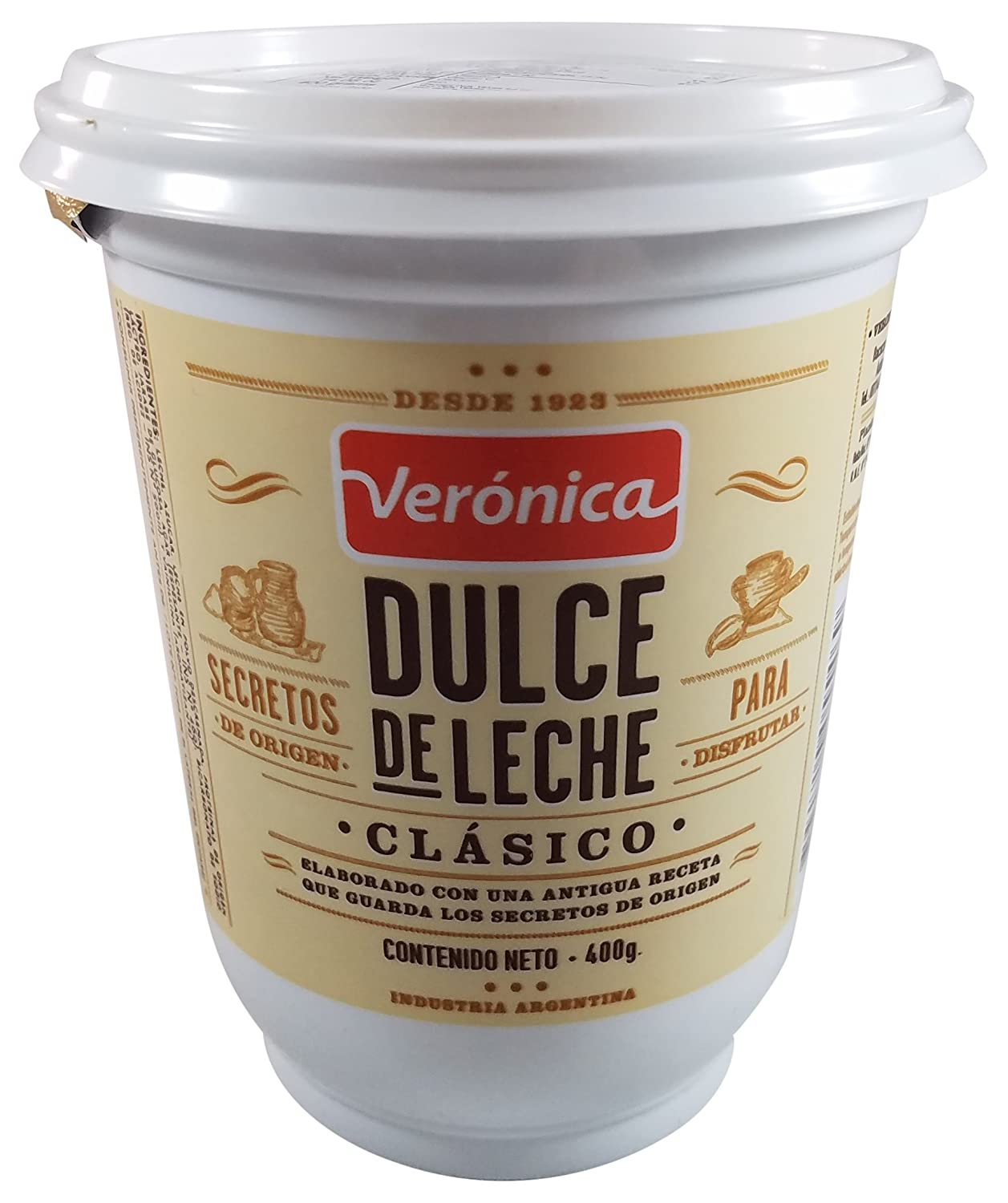 Amazon.com : VERONICA Dulce de leche Veronica Clasico, 0.88 lb : Grocery & Gourmet Food