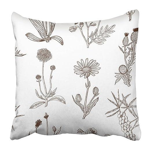 Emvency - Fundas de almohada decorativas con diseño de ...