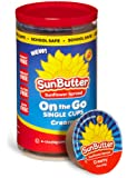 SunButter Sunflower Butter, Delicious, Creamy Alternative to Peanut Butter, 1.5 ounce on the go cups