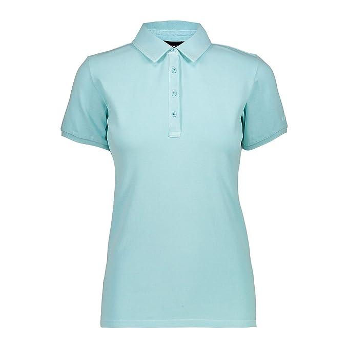 CMP Mujer Polo Camiseta: Amazon.es: Ropa y accesorios
