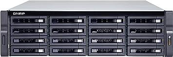 QNAP TS-1673U-RP NAS Bastidor (3U) Ethernet Negro - Unidad Raid (Unidad de Disco Duro, SSD, M.2, Serial ATA III, 2.5/3.5