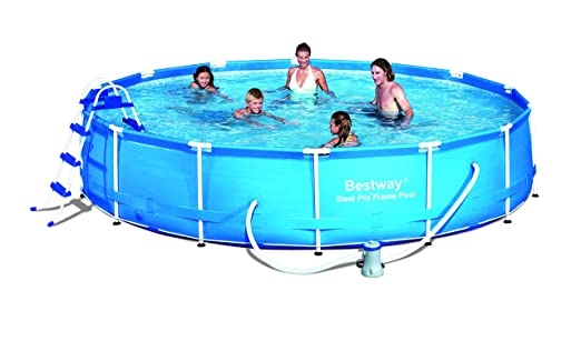 Bestway Splash Junior - Piscina con marco de acero, con ...