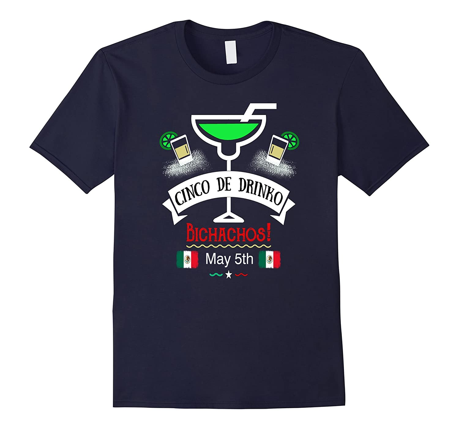 Cinco De Drinko Cinco De Mayo Tequila T-Shirt-TH