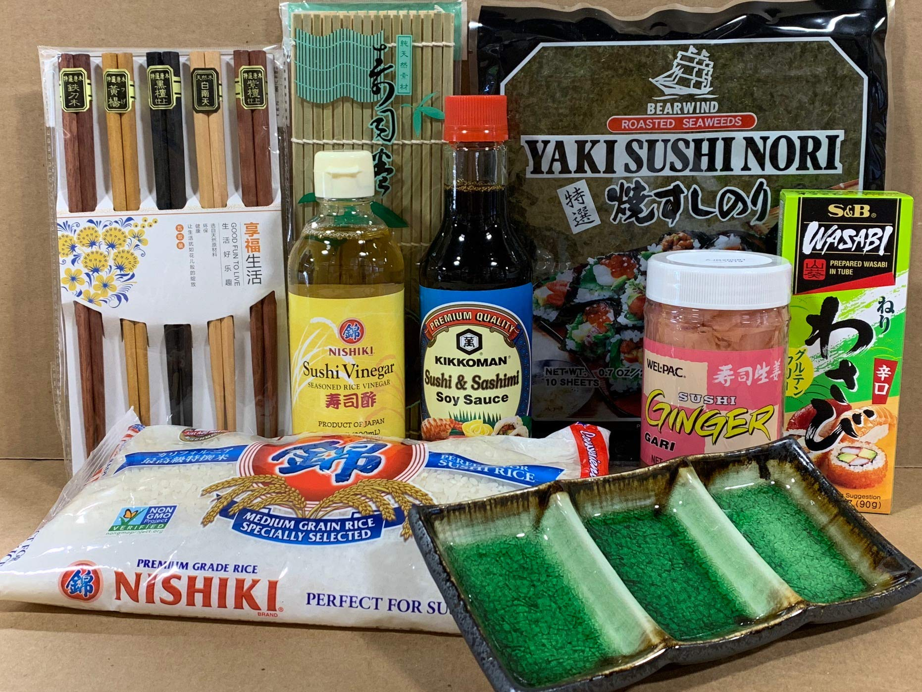 Japanese Sushi Complete Making Kit By KC Commerce by Euphoria