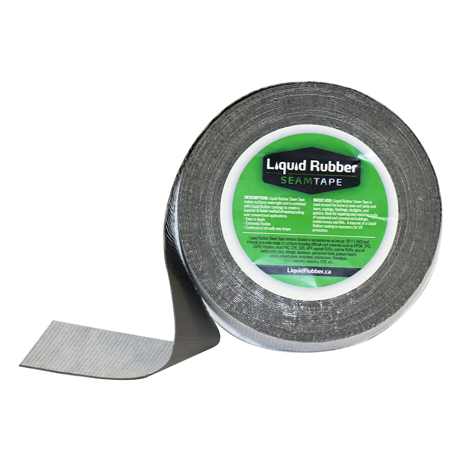 "Liquid Rubber Seam Tape - Peel and Stick | Fix Leaks | Repair and Restore | Easy to Use | 2"" x 50' Roll"