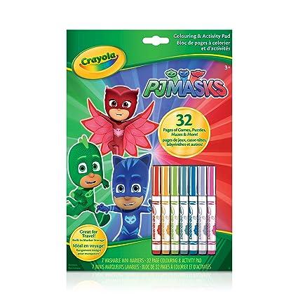 Crayola Colouring & Activity Book PJ Masks