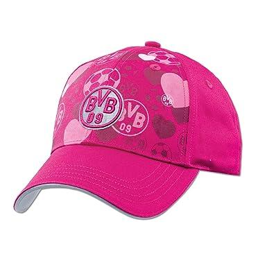 Gorra de hombre del Borussia Dortmund para las niñas rosa rosa Talla:talla única: Amazon.es: Deportes y aire libre