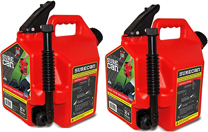 Surecan CRSUR22G1 Gasoline Can 2.2 Gallon