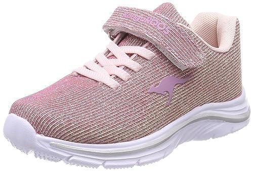 Kangaroos Kangashine EV, Zapatillas Unisex Adultos, Pink (Rose/Gold), 42 EU
