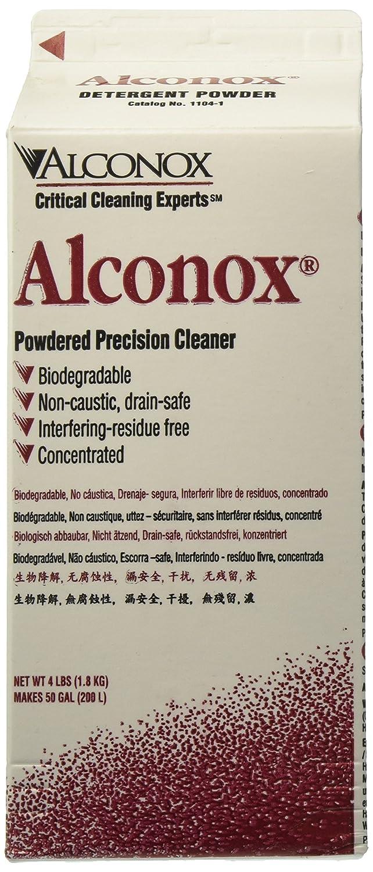 Amazon.com: alconox 1104 en polvo limpiador de precisión, 4 ...