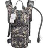 Seamand Hydration Backpack with 3L Water Bladder for Hiking and Climbing