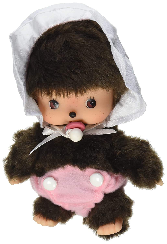 Sekiguchi Monchhichi Bebichhichi - Peluche para bebé: Amazon.es: Juguetes y juegos