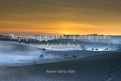 Amazon.com: Home Comforts Rainer Maria Rilke - Famous Quotes ...