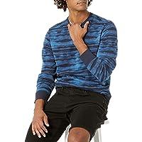 Amazon Essentials Mens Long-Sleeve Lightweight French Terry Crewneck Sweatshirt