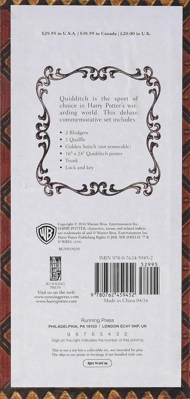 Harry Potter. Collectible Quidditch Set: Running Press, Running ...