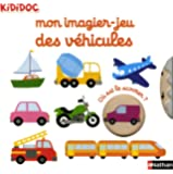 Mon imagier-jeu des véhicules - Kididoc dès 1 an