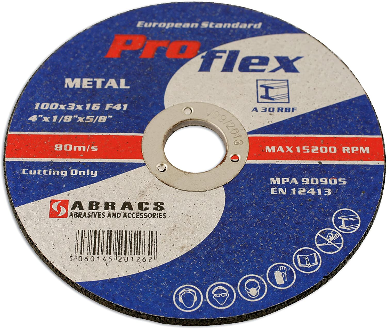 Connect 32077 115mm Fine Abracs Polirico Discs Pack of 5